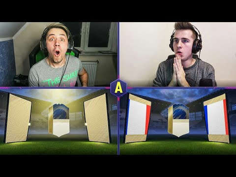 2x IKONA W PACK AND PLAY! QS IKONY! ADRYAN VS DEV | FIFA 18