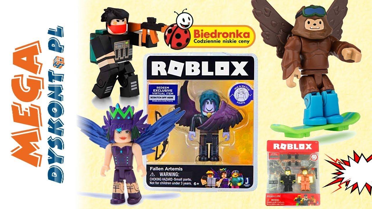 Roblox Figurki Z Biedronki Unboxing Youtube