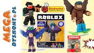ROBLOX  Figurki z Biedronki  unboxing