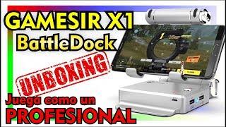GAMESIR X1 - MOUSE Y TECLADO EN TU MOVIL - JUEGA COMO UN PRO - GEARBEST