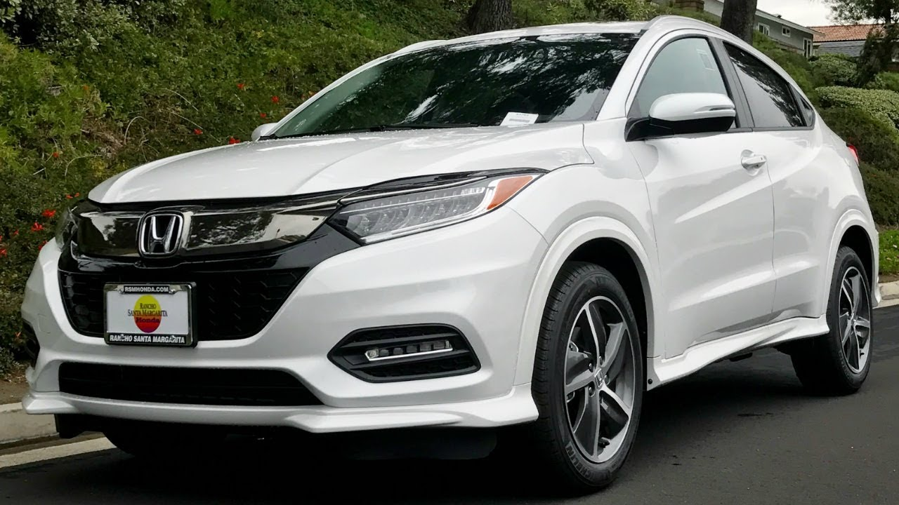 2019 honda hrv touring  full review