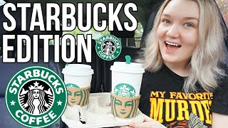 ★ Letting The Person In Front Of Me Decide My Starbucks Drinks ★