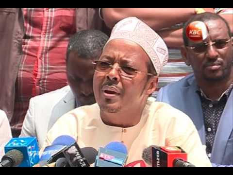 Faction withdraws support from incumbent Wajir Governor ahead of elections