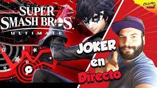Descubre al Joker en directo | jugando con vosotros | Super Smash Bros Ultimate