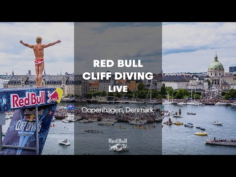 Red Bull Cliff Diving World Series 2018 - Copenhagen, Denmark