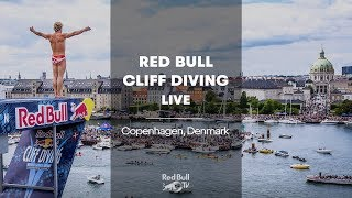 Red Bull Cliff Diving World Series 2018 - Copenhagen, Denmark