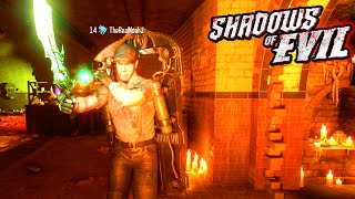 "Black ops 3 zombies ""shadows of evil"" easter egg hunt! upgraded wonder weapon! (bo3 zombies)"