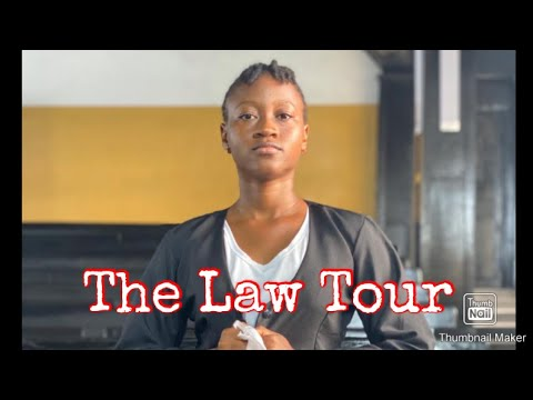 Law students tour the prisons and high court of Sierra Leone (UniMak Law Tour)