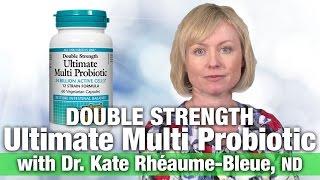 Natural Factors Acidophilus & Bifidus Double Strength With Dr. Kate Rheaume-Bleue