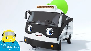 Bandit Sets Buster Up Song   Go Buster!   Bus Cartoons for Kids!   Funny Videos & Songs