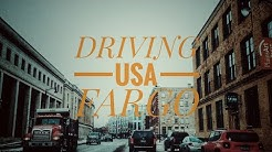 Driving Downtown USA-Fargo, North Dakota