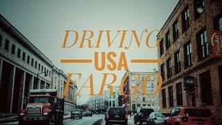 Driving Downtown - Fargo, North Dakota, USA