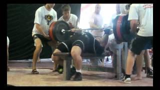 Eugeniy Nechaev 320 kg @ 100 NO lift