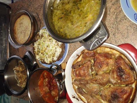 Чем я кормлю семью, готовлю на пару дней. 1 часть