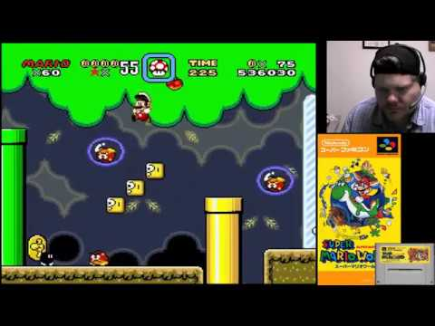 Super Mario World (Part 5) - SNES Classic | VGHI Play 'n' Chat Live Stream