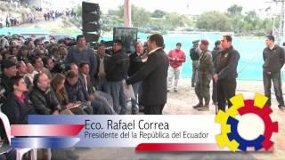 RECORRIDO OBRAS EN LA PROVINCIA DE COTOPAXI