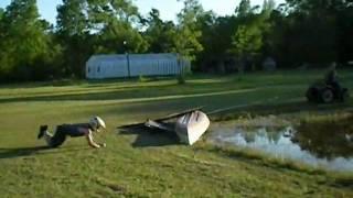 Prairie & Pond Surfing Redneck Style