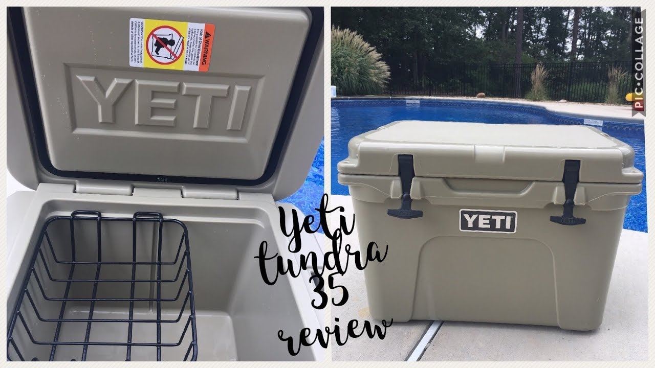 Yeti Cooler ~ Tundra 35 review