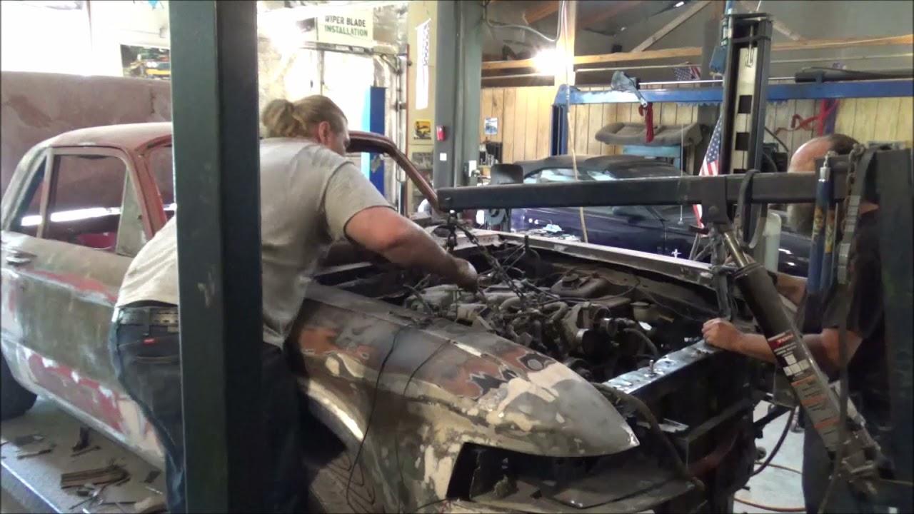 62 Comet Part 26 Engine Removal ++