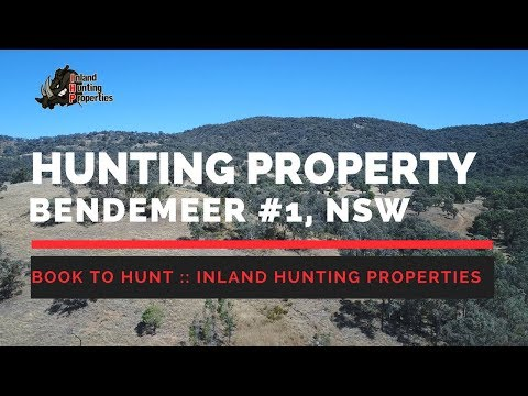 BENDEMEER #1 NSW Hunting Property | Inland Hunting Properties Drone Video