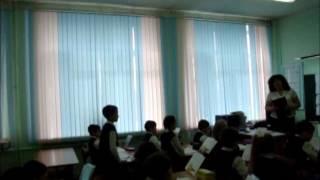 Урок русского языка 2 класс (фрагмент).  Беляева Т.Ю. ГУО