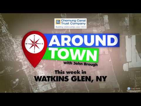 Around Town With John Brough   Watkins Glen, New York