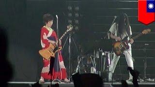 椎名林檎が台湾で海外処女公演 1万人のファンを魅了