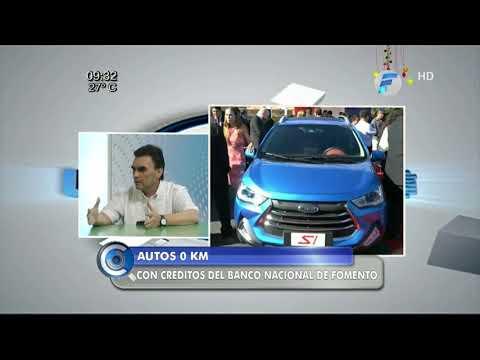 Autos O km con créditos del Banco Nacional de Fomento (BNF)