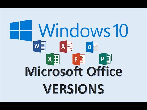 Windows 10 - Office Versions - How to Check MS Microsoft Version is on Your Computer - PC Tutorial