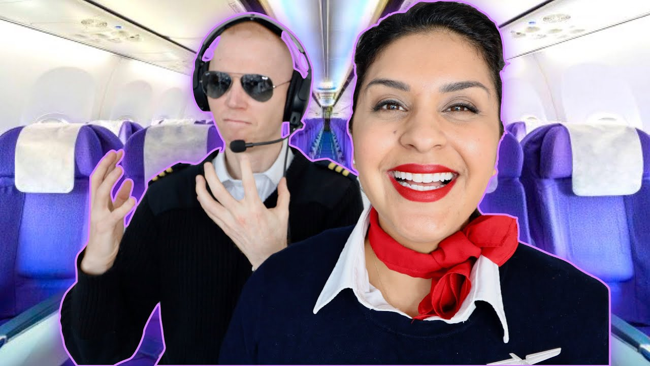 5 MOST ANNOYING THINGS FLIGHT ATTENDANTS DO TO PILOTS - Fly With Stella vs   74 Gear 🤣 - 2019