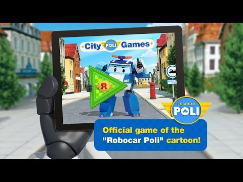Robocar Poli: City Games (free on iOS and Android)