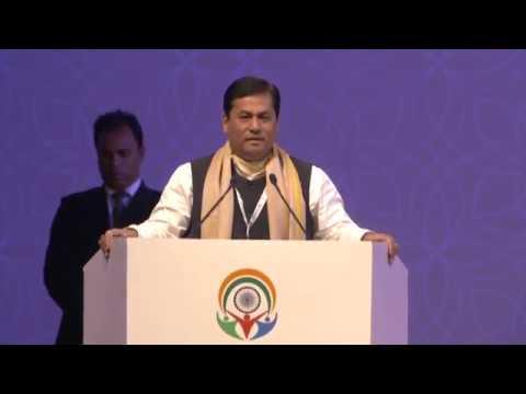 Chief Minister Shri Sarbananda Sonowal Addressing at Prabashi Bharatiya Divas 2017