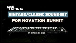 Luke Neptune's Vintage/Classic Soundset for Novation Summit