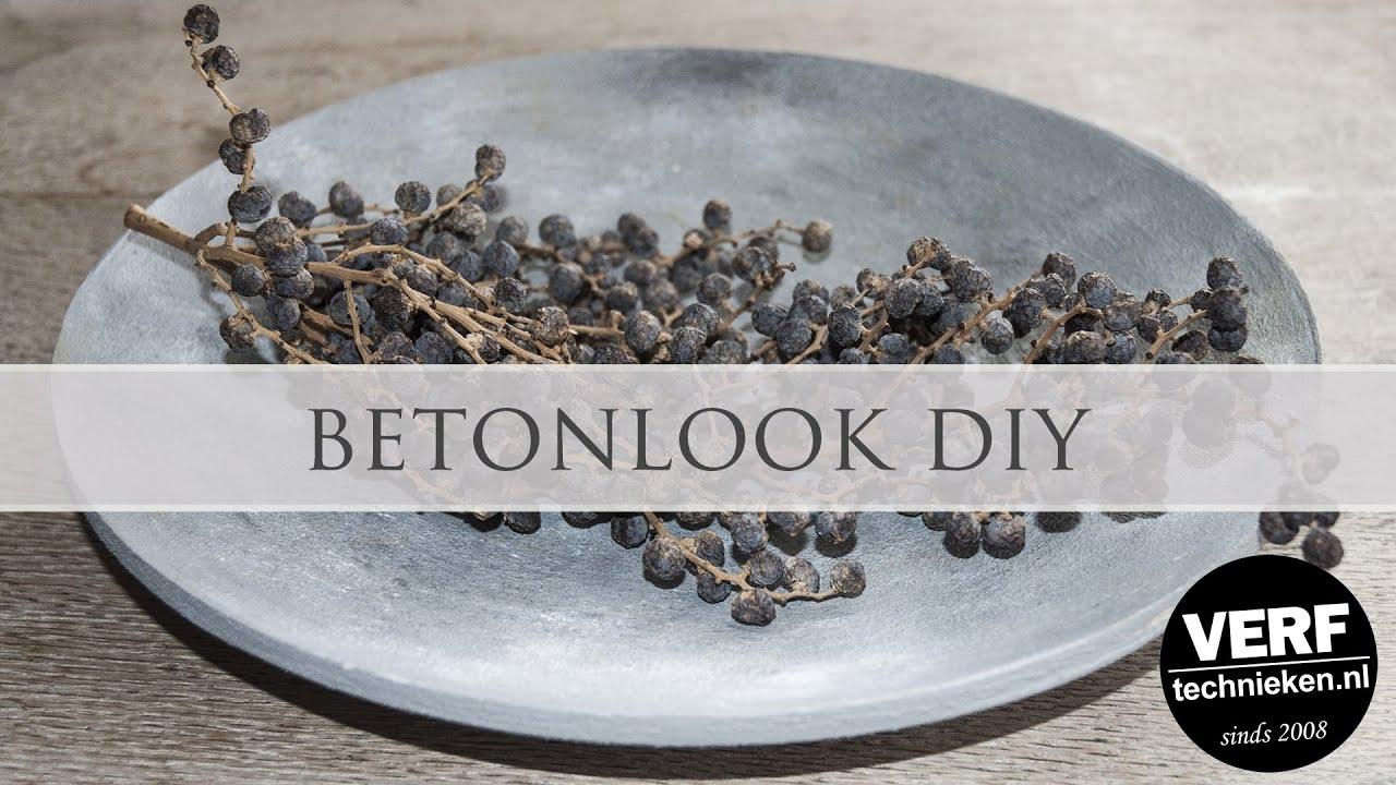 Beste Betonlook DIY - YouTube MT-35