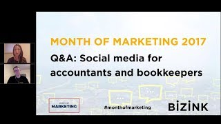 Q&A – Social Media for Accountants and Bookkeepers - Month of Marketing