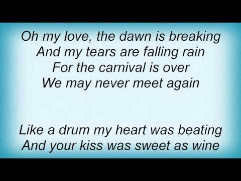 15371 Nick Cave - The Carnival Is Over Lyrics