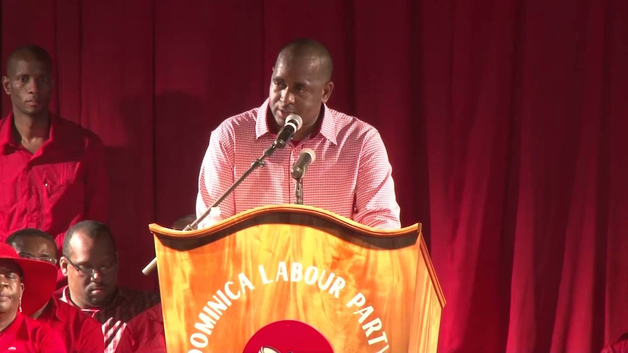 Dominica Labour Party's Political Leader's Address in St ...