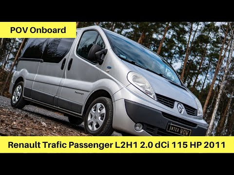Renault Trafic Passenger 2011 2.0 Dci 115  | Onboard POV Test Dive | #0 EWcars
