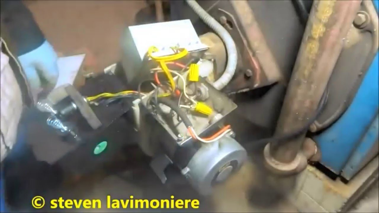 Oil Burner Keeps Tripping Out On Safety At Night Youtube Fan Relay Switch Blowing