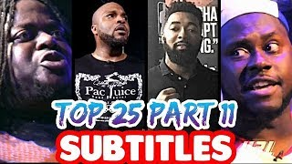 Top 25 Bars That Will NEVER Be Forgotten PART 11 SUBTITLES | ALL LEAGUES Masked Inasense
