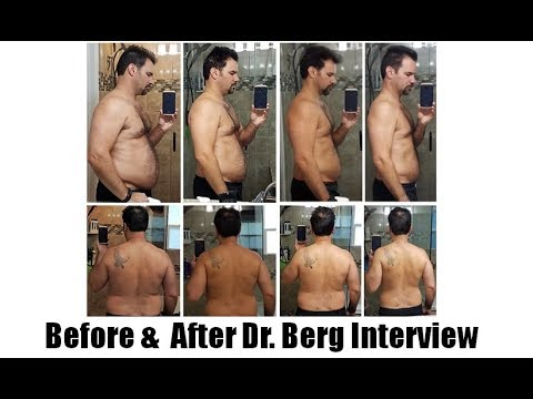 Ketosis & Intermittent Fasting  Before-After: Dr. Berg Skype with Joe Busuttil