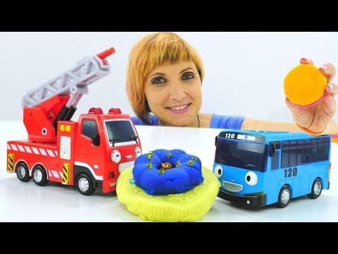 Про машинки и автобус Тайо - детский сад Капуки Кануки 17
