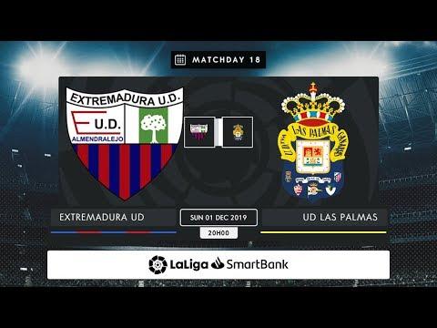 Extremadura UD - UD Las Palmas MD18 D2000