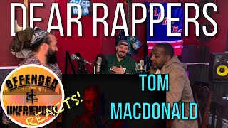 Offended And Unfriended Reacts: Tom MacDonald - Dear Rappers