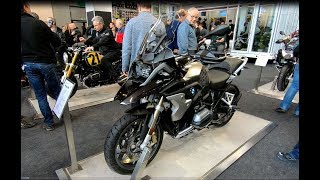 BMW R 1200 GS ADVENTURE TOURING BIKE NEW MODEL 2018 WALKAROUND
