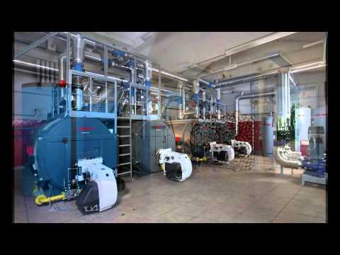 Отопление промышленных помещений ( типы зданий , варианты отопительных систем )