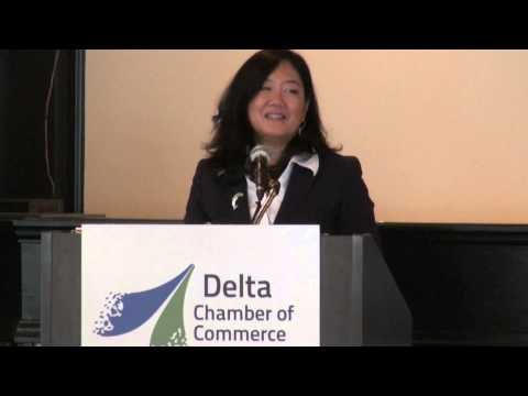 Networking & Learning Luncheon with Minister of Small Business & Tourism Naomi Yamamoto