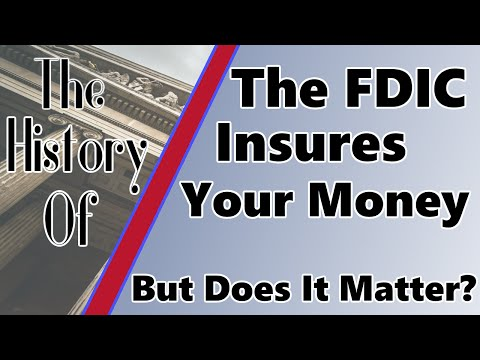 The History Of: The FDIC