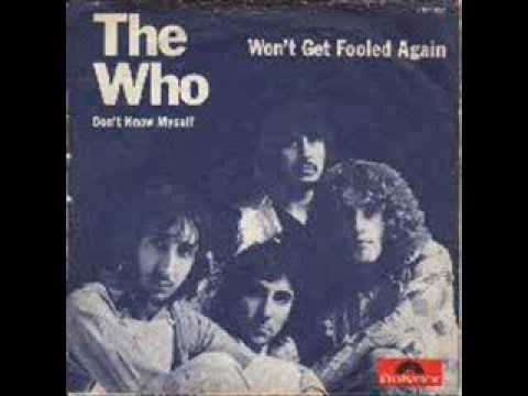 Won't Get Fooled Again Isolated - Vocals