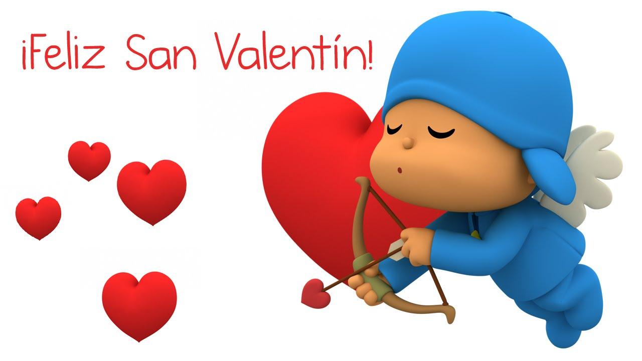 Pocoyó En Español Feliz Día De San Valentín
